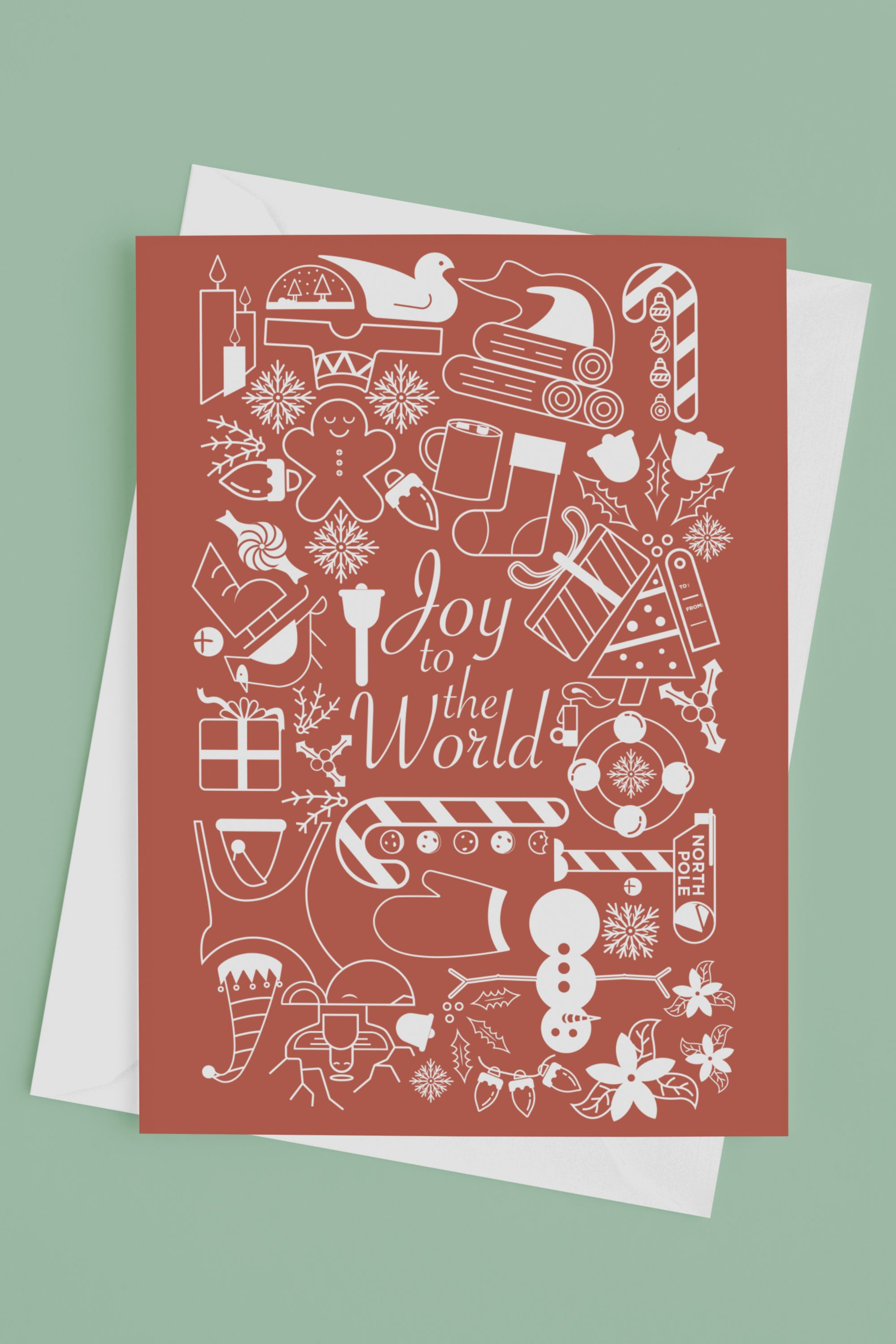Christmas Card Holiday Card Joy To The World Card Etsy Christmas Cards Mother S Day Greeting Cards Holiday Cards