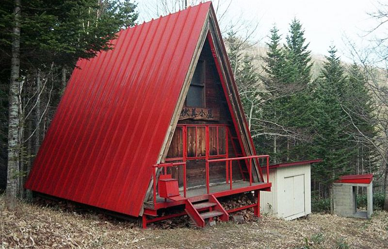 30 Amazing Tiny A frame Houses httpwwwdesignrulzcomdesign