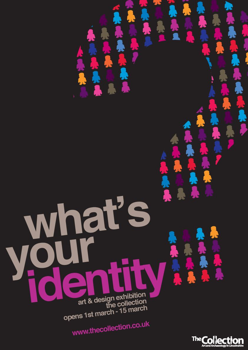 This question mark could work well for a series on Coexisting ... for Creative Poster Designs Inspiration  565ane