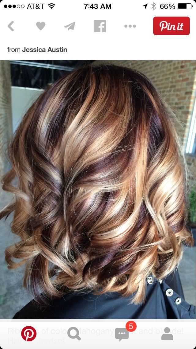 Loving The High And Low Lights Peinados Pinterest Low Lights