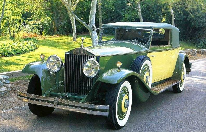 268ajs 1932 Croydon Convertible Victoria By Brewster Veteran Car Rolls Royce Cars Classic Cars