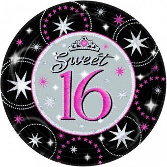 Sweet 16 Plates - Sweet 16 Themed Party Tableware Ideas  sc 1 st  Pinterest & Sweet 16 Plates - Sweet 16 Themed Party Tableware Ideas | Events ...