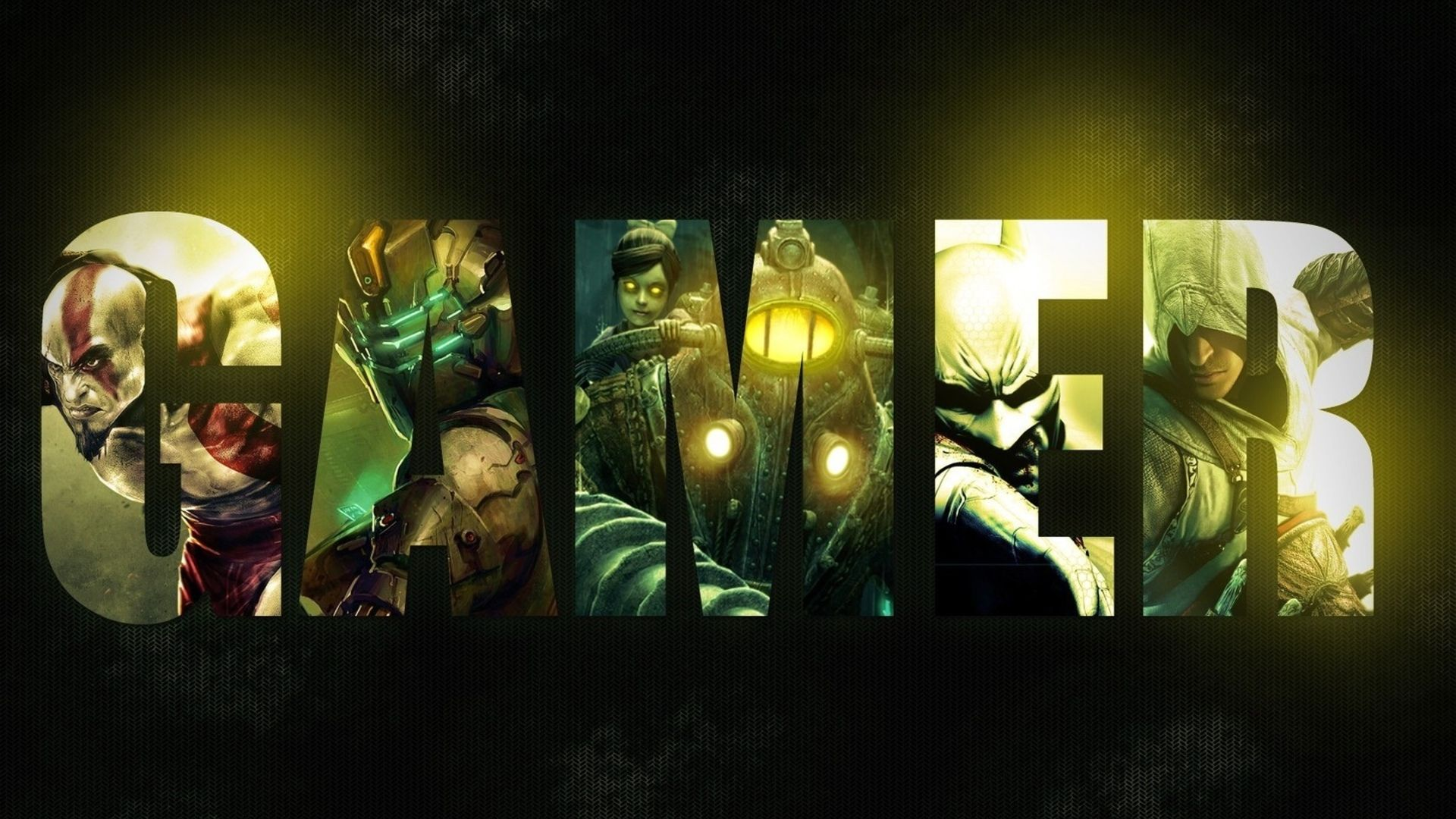 Bioshock God Of War Assassin S Creed Dead Space Video Games Games Collages Wallpaper 1920x1080 Gaming Wallpapers Hd Gaming Wallpapers Best Gaming Wallpapers