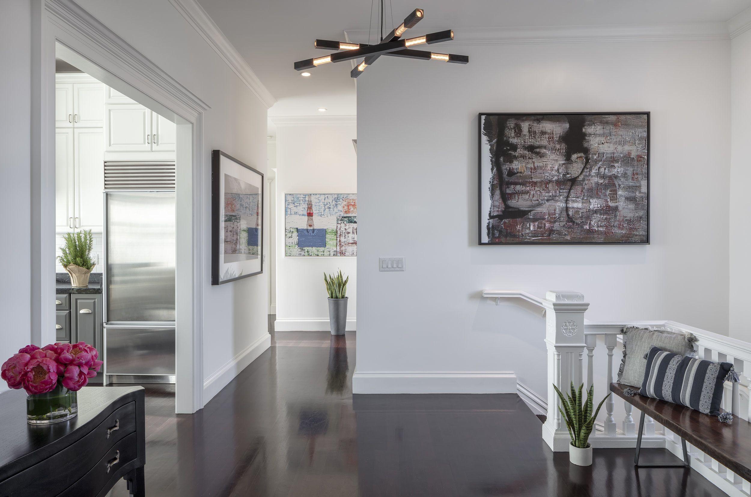 sf mission foyer  organic interiors organic modern