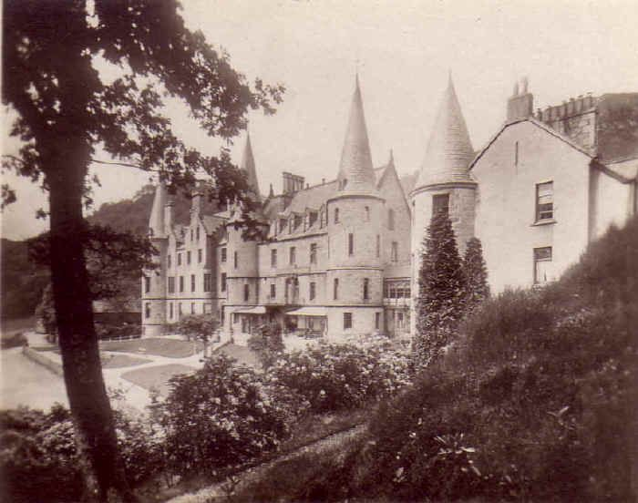 Old Photos Of The Trossachs Hotel