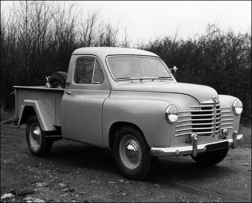 1955 Renault Colorale Pickup Trucks Motor Car American