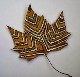 Blätter-Muster