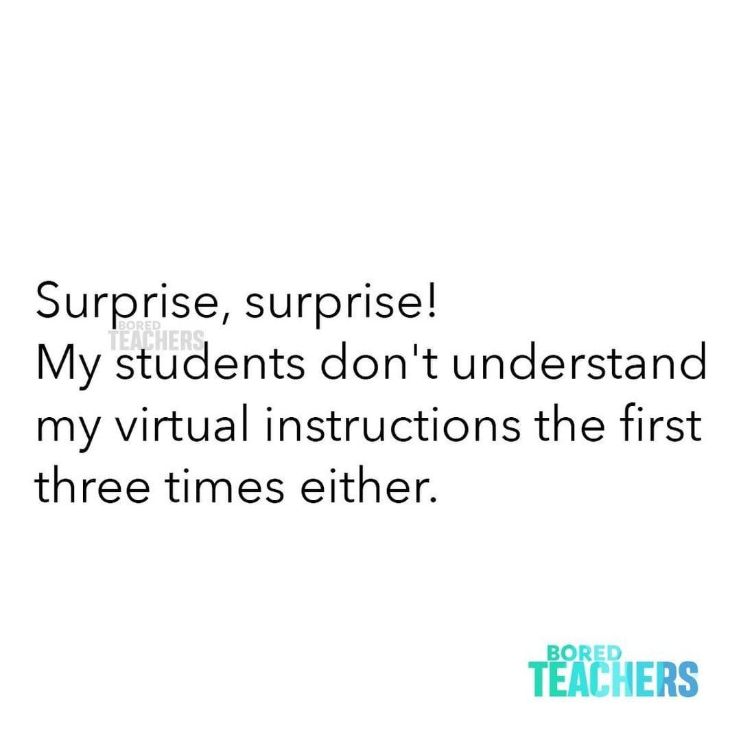 Bored Teachers S Instagram Photo What Else Is New Bored Teachers Teaching Humor Teaching Memes