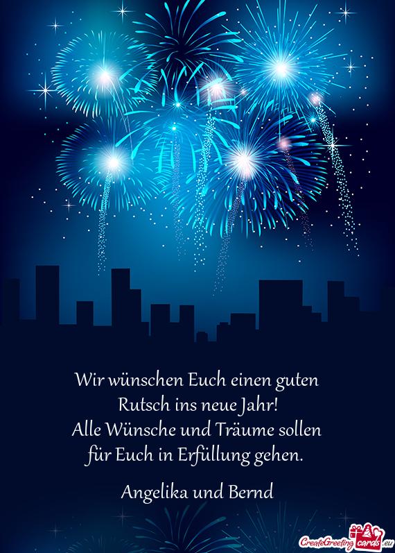 Guten Rutsch In Neue Jahr Bilder #GutenRutschInNeueJahrBilder ...