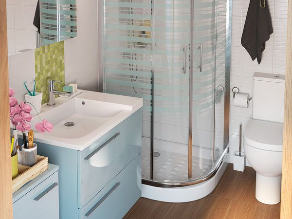 8 microideas para un ba o mini ba os bathroom design - Modelo de banos ...