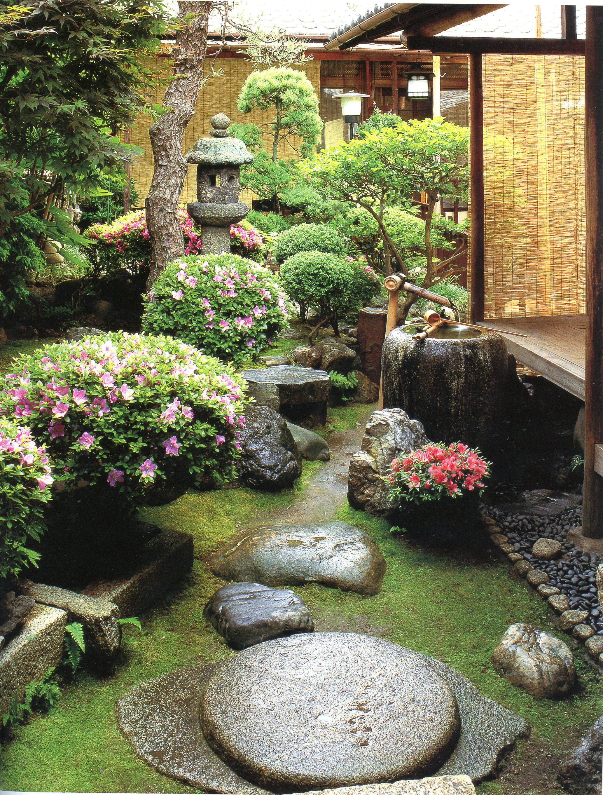 Yoshida residence landscapes for small spaces japanese - Japanese garden ideas for small spaces ...