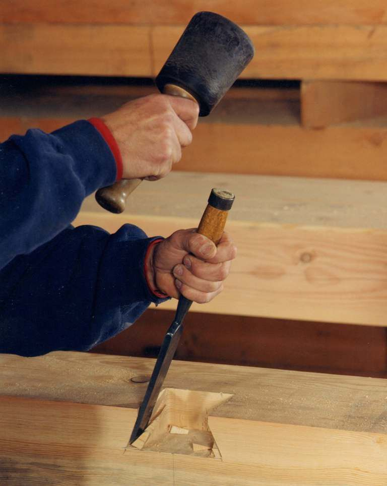 Tools Used in Timber Frame and Post & Beam Construction ...