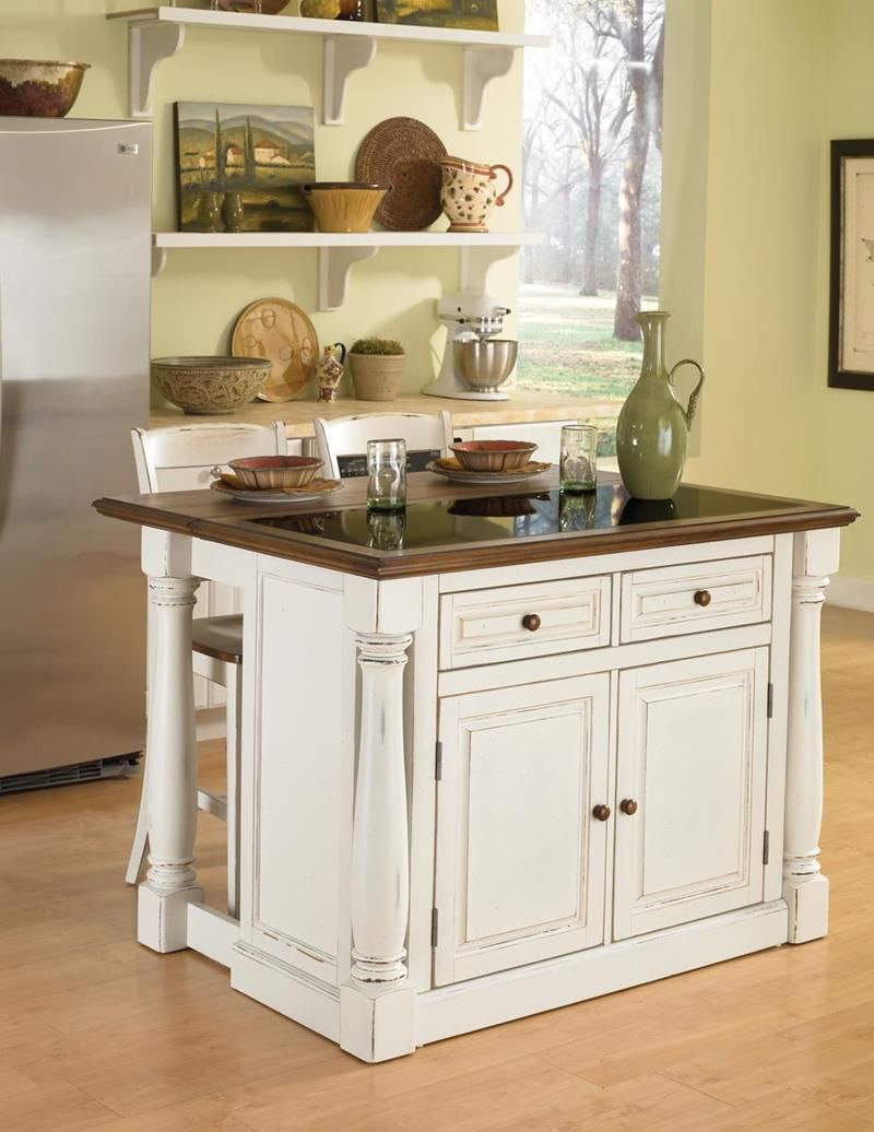 51 Awesome Small Kitchen With Island Designs  Island Design Extraordinary Small Kitchen Island Design Ideas Design Ideas