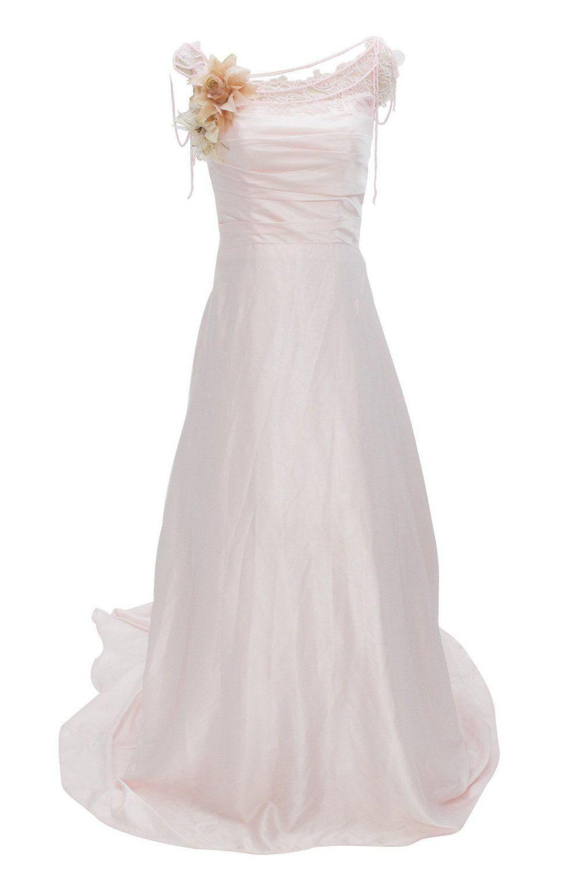 Wedding dresses for big women  Dressystar Womenus Long Pink Wedding Dresses Plus Size Clothing