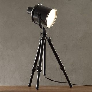 INSPIRE Q Director's Adjustable Tripod 1-light Spotlight Lamp