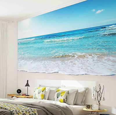 Wall Mural Photo Wallpaper W1165p Beach Tropical Beach Wall