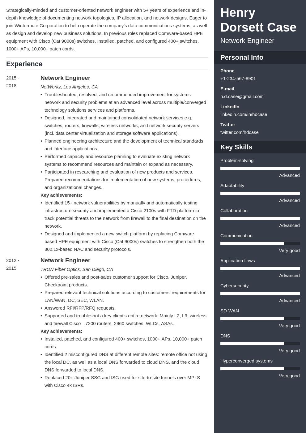 Basic Network Engineer Resume Cv Template Word Psd Indesign Apple Pages Illustrator Publisher Engineering Resume Templates Basic Resume Engineering Resume