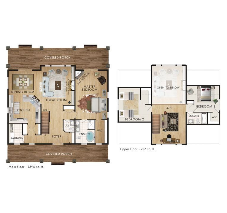 Beaver Homes and Cottages - Prescott Floor Plan | A Home | Pinterest ...