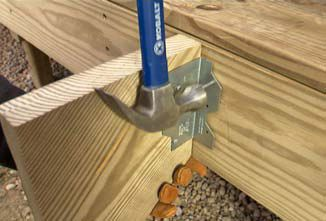 How To Attach Stair Stringers To Joist Google Search