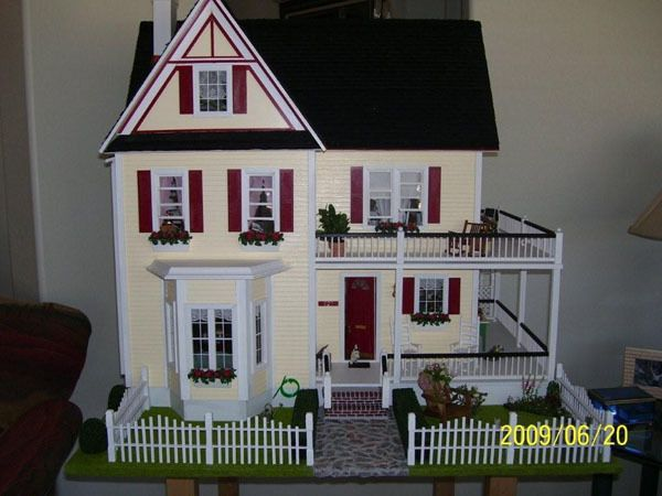 landscape ideas. dollhouse