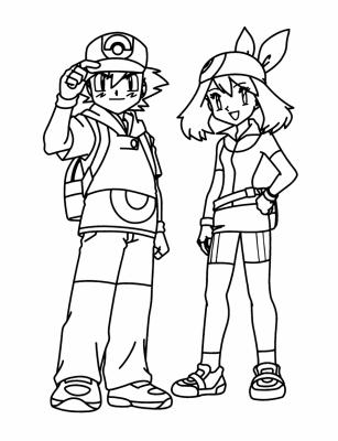 Imagenes Para Colorear De Pokemon Xy Para Colorear Pokemon