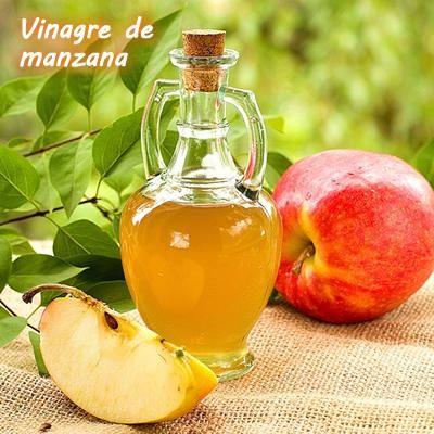 Vinagre de manzana para prevenir los piojos