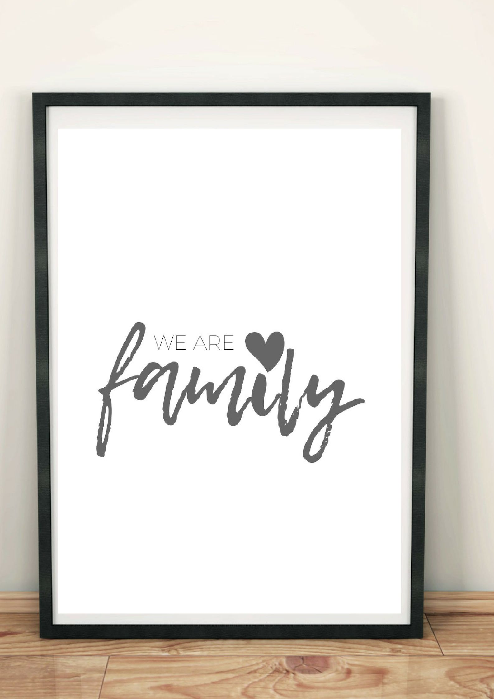 """We are family""""* Eure Liebsten sind Eure Familie. Ob WG oder ..."""