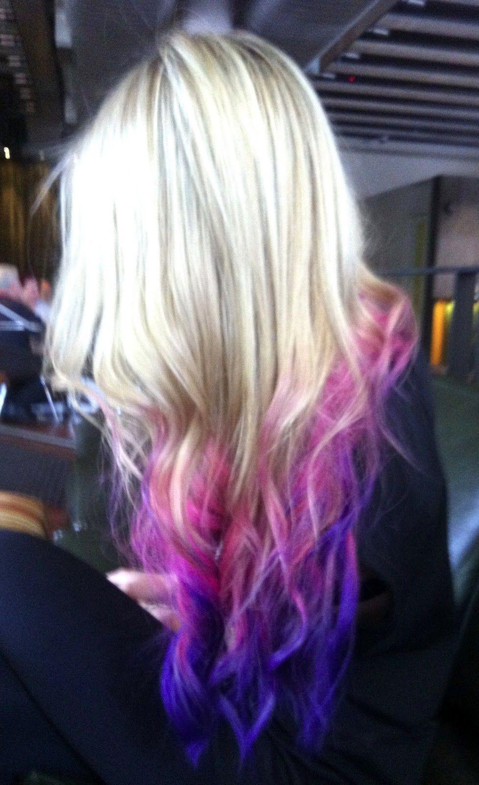 Pin By Susan Maciariello On Hair Dip Dye Hair Hair Styles Ombre Hair