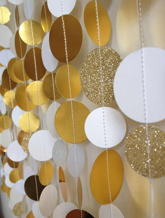 Gold Sparkle Wedding Event Photo Booth Backdrop By SonOfThom