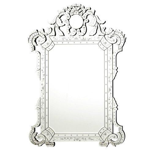 Miroir vénitien H 141 cm CASANOVA | Sale de bain SS | Pinterest