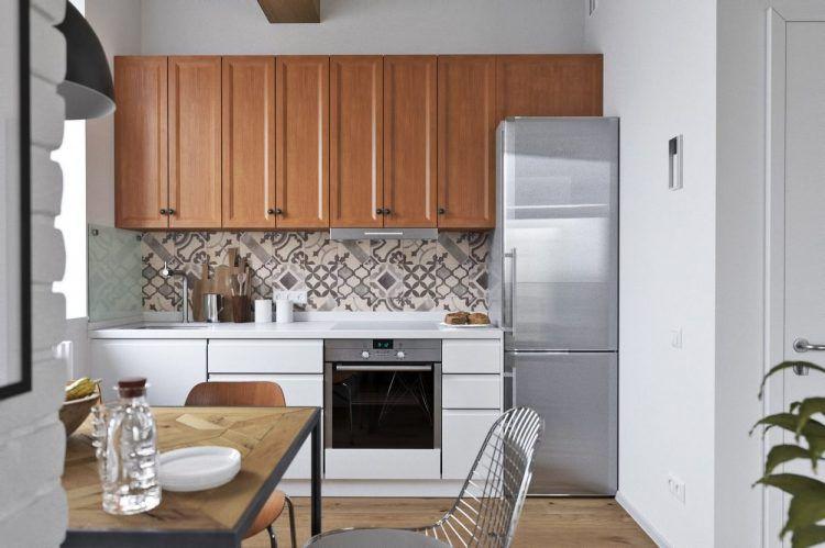 62m2-es lakás tetőtéri hálószobával - friss, világos berendezés ...
