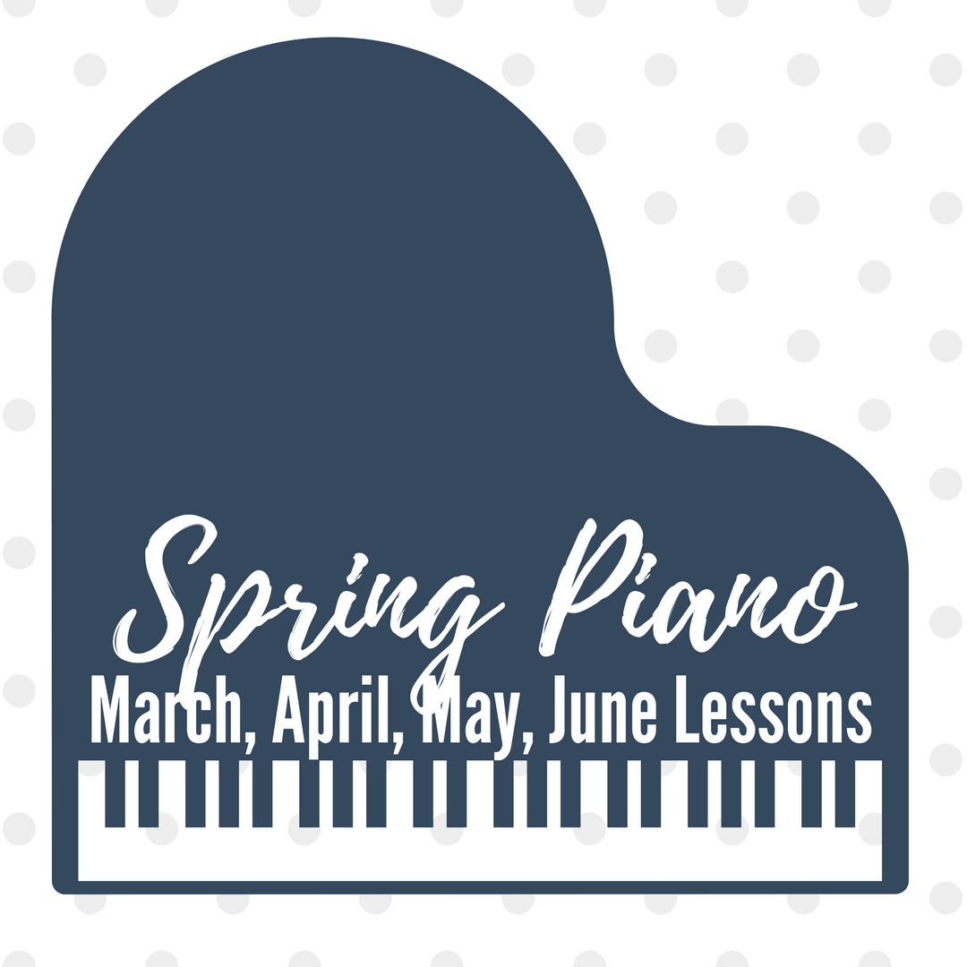 Spring Themed Activities For Piano Lessons Including