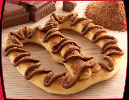 Como fazer Prestzel com Ganache de Chocolate e Ovomaltine | Creative