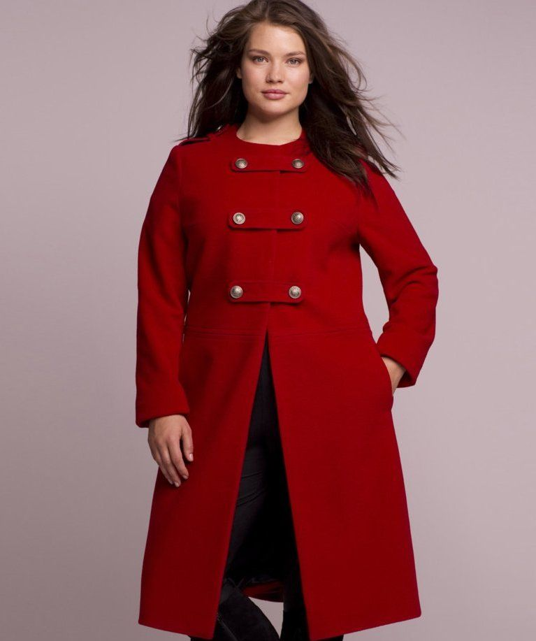 Women's plus size long winter coats | | Plus Size All | Pinterest ...