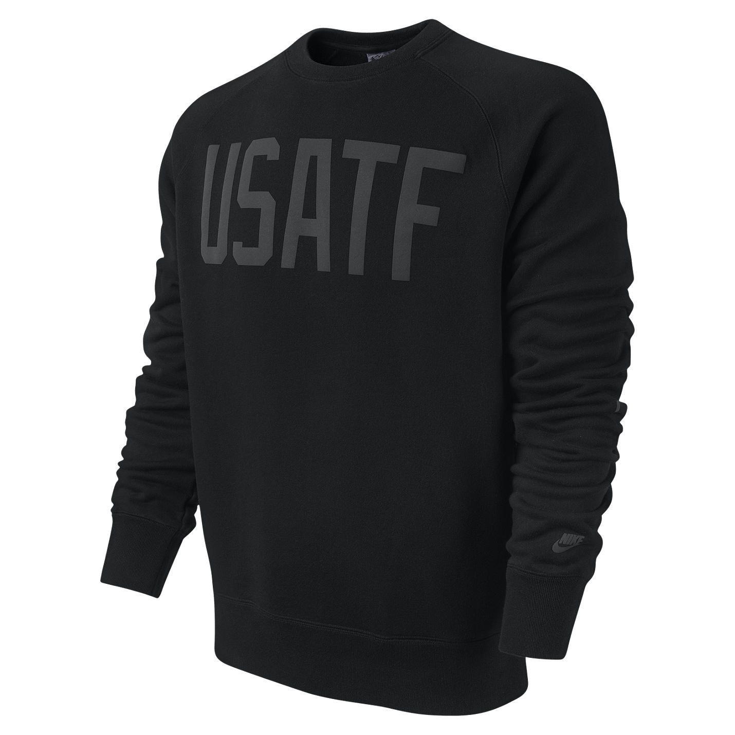 Nike Store UK. Nike Logo (USATF) Men's Sweatshirt | Mens ...