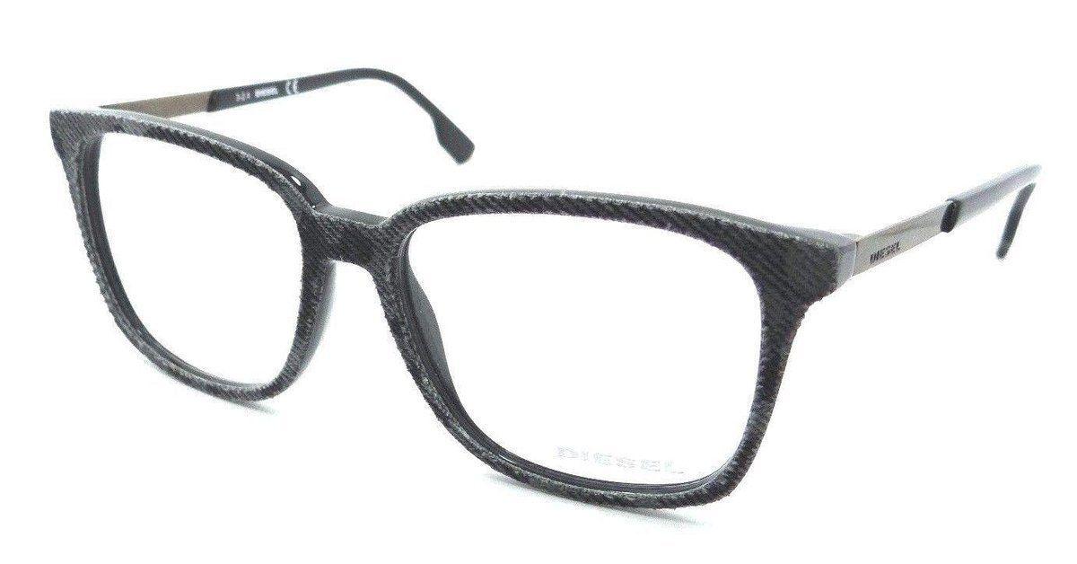 5694e9dd41 Diesel Rx Eyeglasses Frames DL5116 005 53-16-145 Black Grey Spotted Denim
