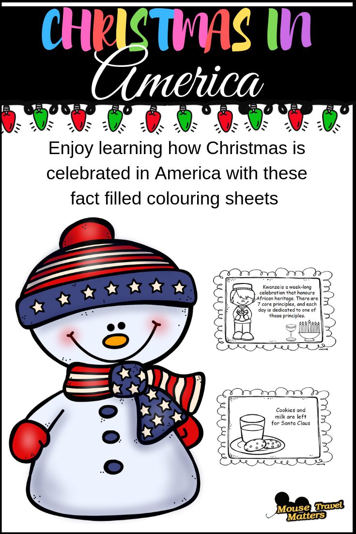 Christmas In America Book.Christmas In America Mini Book For Early Readers December