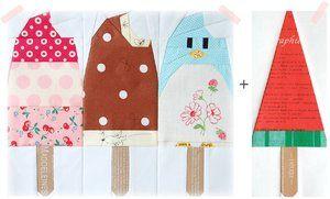 Shop | Category: Patchwork & Quilts | Product: Super Penguin Quilt-Along - July Block PDF