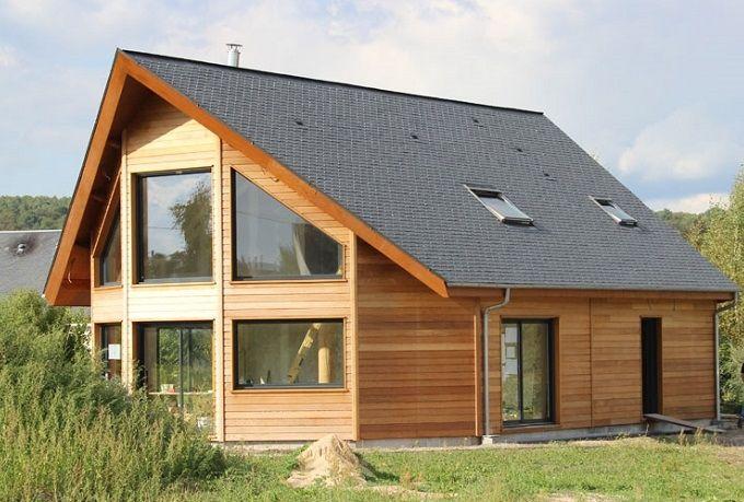 Modern huis op maat laten maken jaro houtbouw tevens for Houten huis laten bouwen
