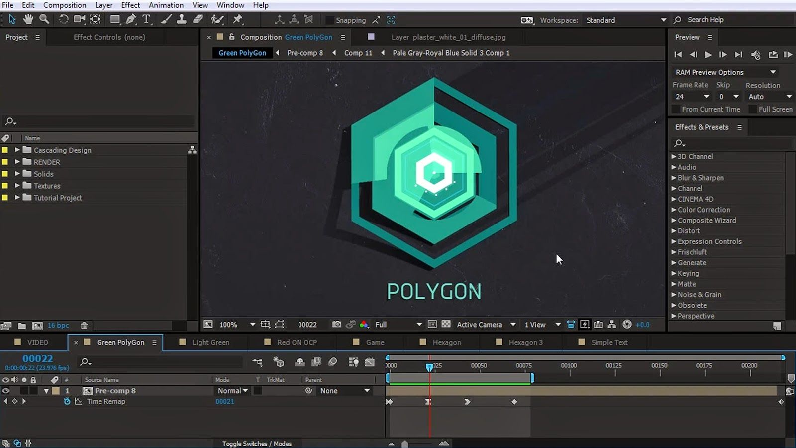 How to create Animated Polygon in After Effects | CG Tutorials ...