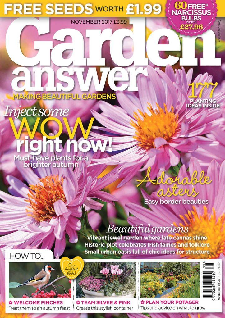 garden answers garden answers is the inspirational monthly garden magazine that guarantees hands on help for your garden its packed with star plants and - Garden Answers