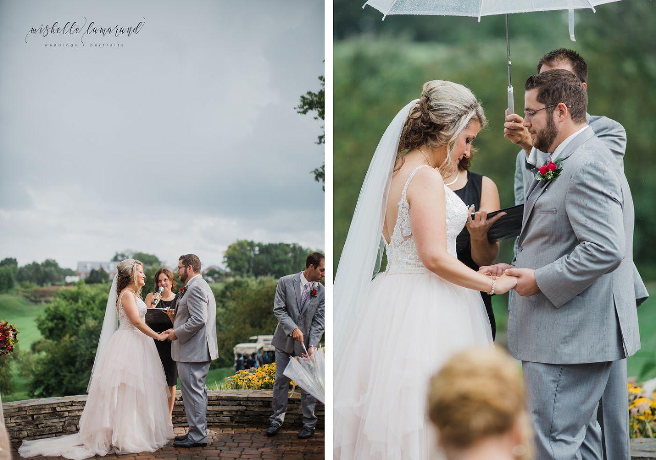 Sara u marc a wyndate country club wedding country club wedding