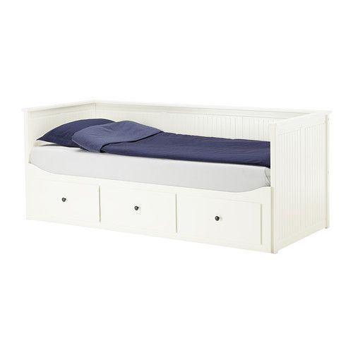 hemnes daybed frame with 3 drawers ikea sofa single bed bed for