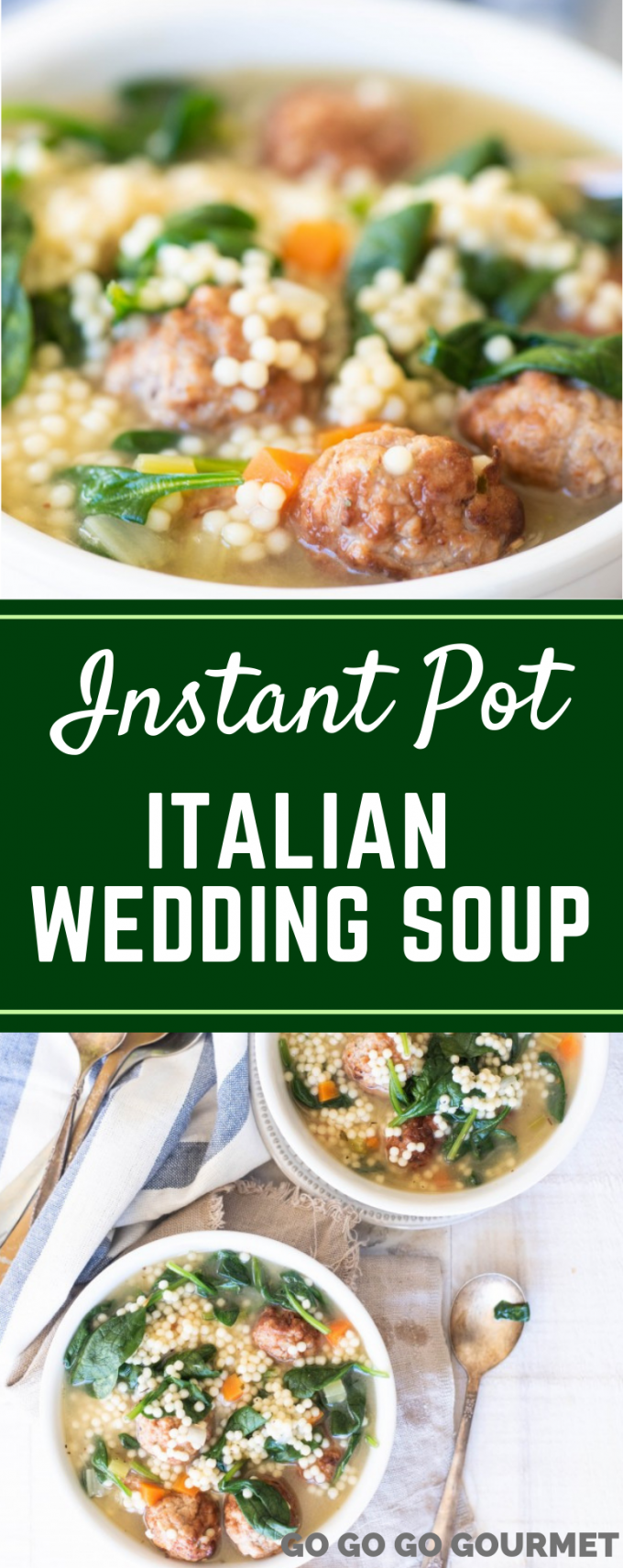 Instant Pot Italian Wedding Soup - Authentic Italian Wedding Soup