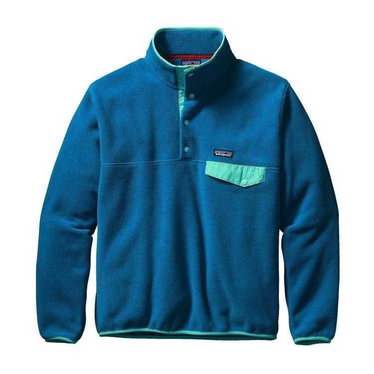 fe76cbc8437c Men s Patagonia Lightweight Synchilla Snap-T Pullover - Bandana Blue w   Epic Blue