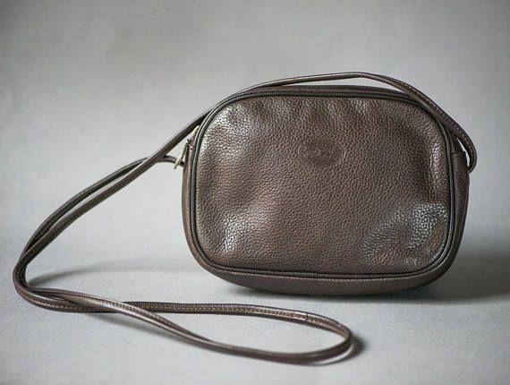 085b2a2716 Handmade Purse Bag Finest Leather. Dark Brown Bag Ball Clasp ...