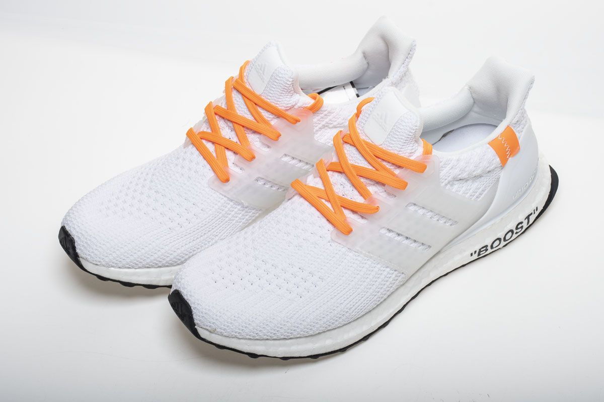 f3adc26ba6fb1 OFF WHITE X adidas Ultra Boost 4.0 All White Real Boost7