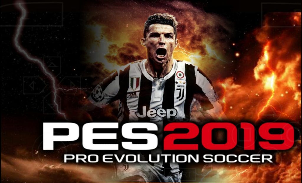 Download PES 2019 ISO File For Android and PPSSPP Console CR7JUVE