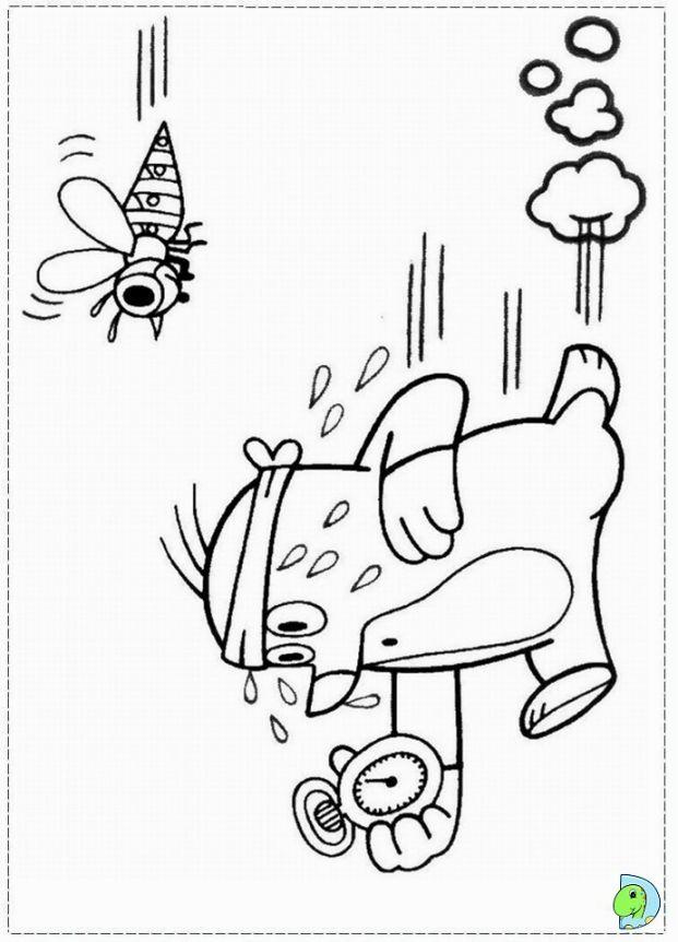 Mole Coloring Page Coloring Pages Color Happy Colors