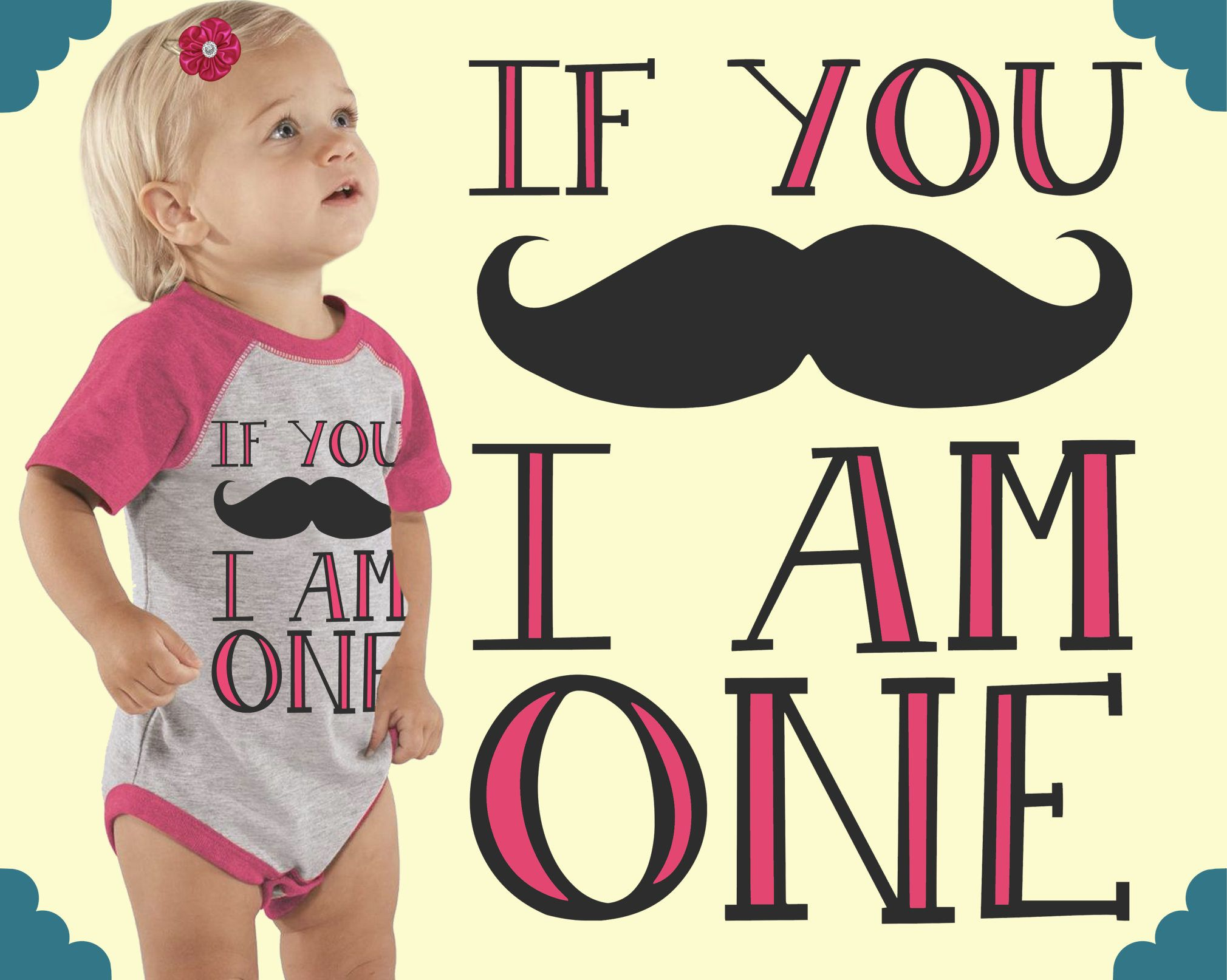 One year old mustache girl clothes personalized baby one year old mustache girl clothes personalized baby custom baby gift custom baby clothes kids tshirt teal blvd negle Gallery